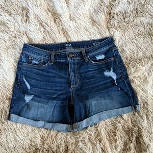 a.n.a denim shorts